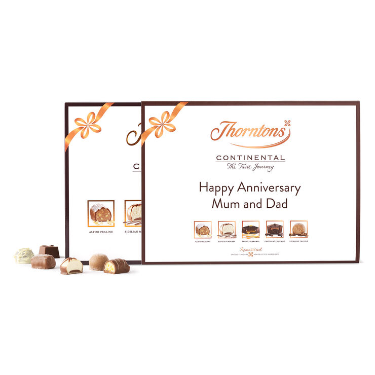 Personalised Continental Gift Collection | Personalised Gifts | Thorntons