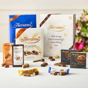 Personalised Pick Me Up Giftset tablet