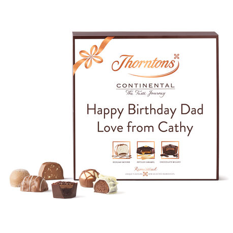 Personalised Continental Parcel Box