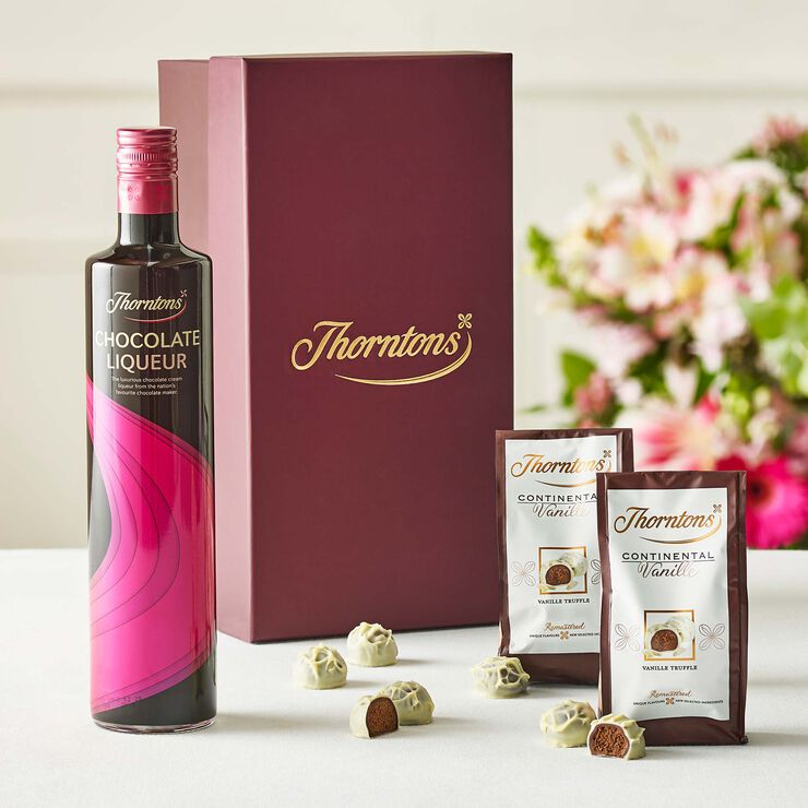 Wedding Gift Hampers Uk: Chocolate Liqueur And Truffles Hamper