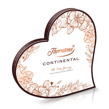 Continental Heart Box
