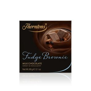 Fudge Brownie Milk Chocolate Block tablet