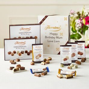Personalised Continental Giftset tablet