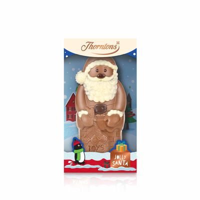 Milk Chocolate Santa Model desktop