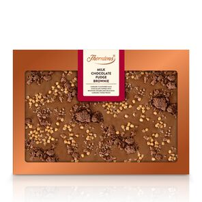 Milk Chocolate Fudge Brownie Bar tablet