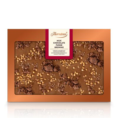 Milk Chocolate Fudge Brownie Bar desktop