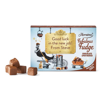 Personalised Chocolate Smothered Fudge Box desktop