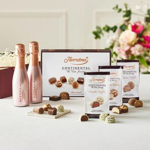Pink Prosecco Giftset tablet