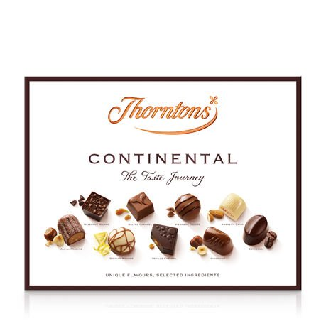 Continental Chocolate Gift Collection