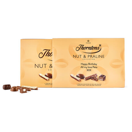 Personalised Nut and Praline Box