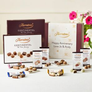 Personalised Continental Taste Journey Hamper tablet
