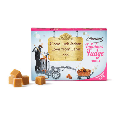 Personalised Vanilla Fudge Box desktop