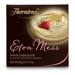 Eton Mess Chocolate Block tablet