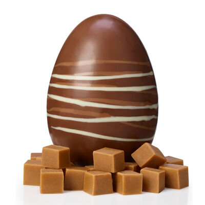 Milk Chocolate and Fudge Easter Egg desktop
