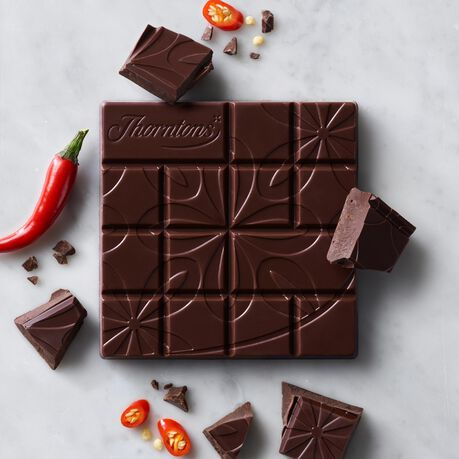 70% Dark Chilli Chocolate Block