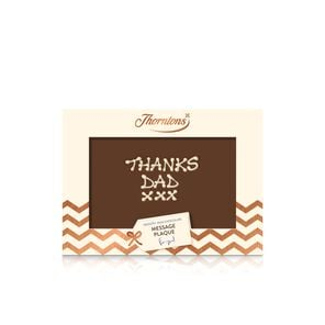 Personalised Milk Chocolate Message Plaque tablet