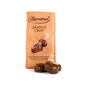 Bag of Orange Crisp Chocolates tablet