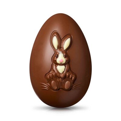 Milk Chocolate Bunny Easter Egg desktop