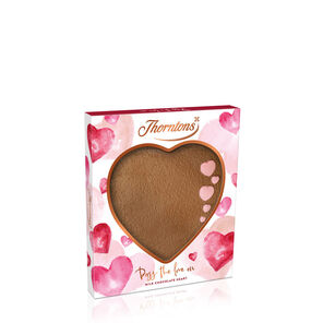 Milk Chocolate Heart Plaque tablet