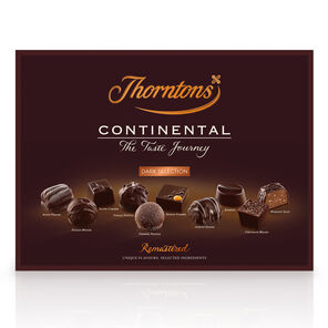 Dark Chocolate Continental Collection tablet
