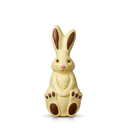 White Chocolate Bunny Easter Model