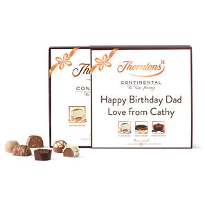 Personalised Continental Parcel Box tablet