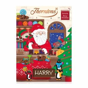 Santa and Reindeer Advent Calendar tablet