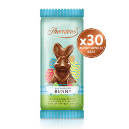 30x Milk Chocolate Bunny Bar