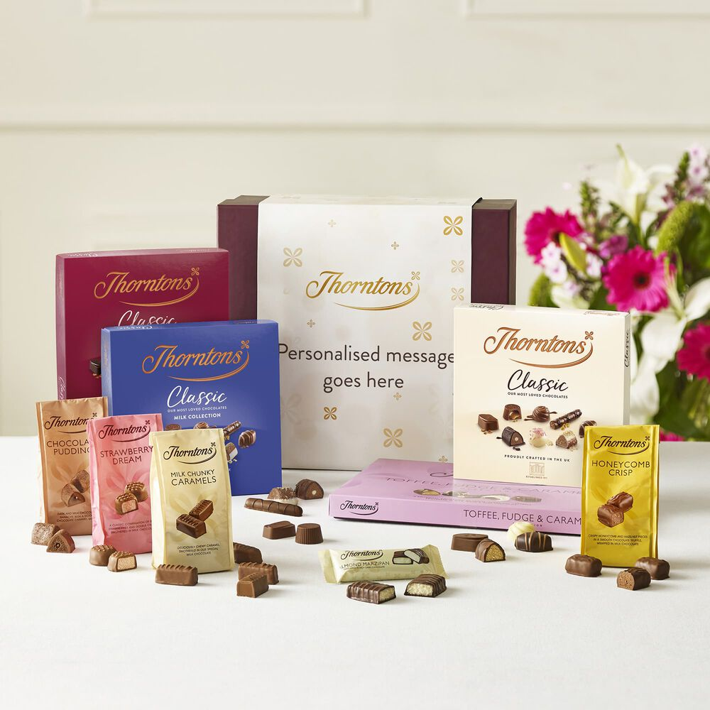 Personalised Classic Flavours Chocolate Hamper