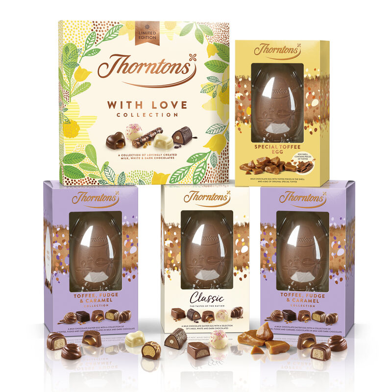 Easter Toffee and Fudge Collection