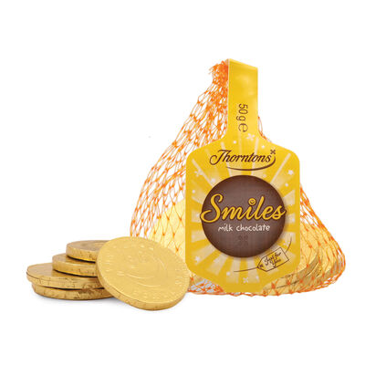 Smiles Milk Chocolate Coins desktop