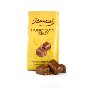 Bag of Honeycomb Crisp Chocolates tablet