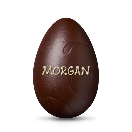 Large Dark Chocolate Easter Egg