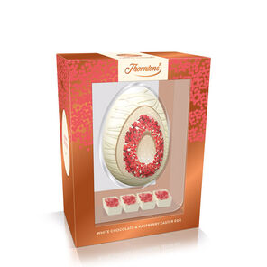 White Chocolate and Raspberry Premium Egg tablet
