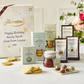 Personalised Afternoon Tea Giftset tablet
