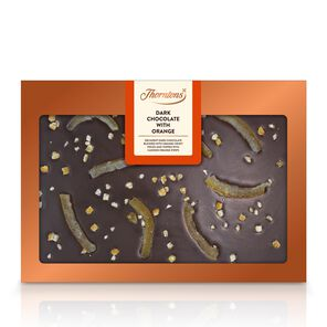 Dark Chocolate with Orange Bar tablet