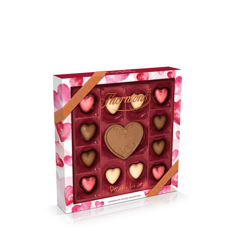 Personalisable Chocolate Heart Box