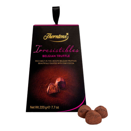 Irresistible Belgian Chocolate Truffles