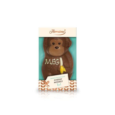 Milk Chocolate Cheeky Monkey Model desktop