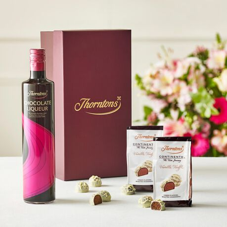 Chocolate Liqueur and Truffles Hamper