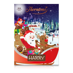 Milk Chocolate Santa Advent Calendar
