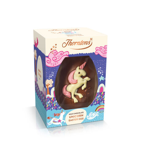 Milk Chocolate Unicorn Easter Egg
