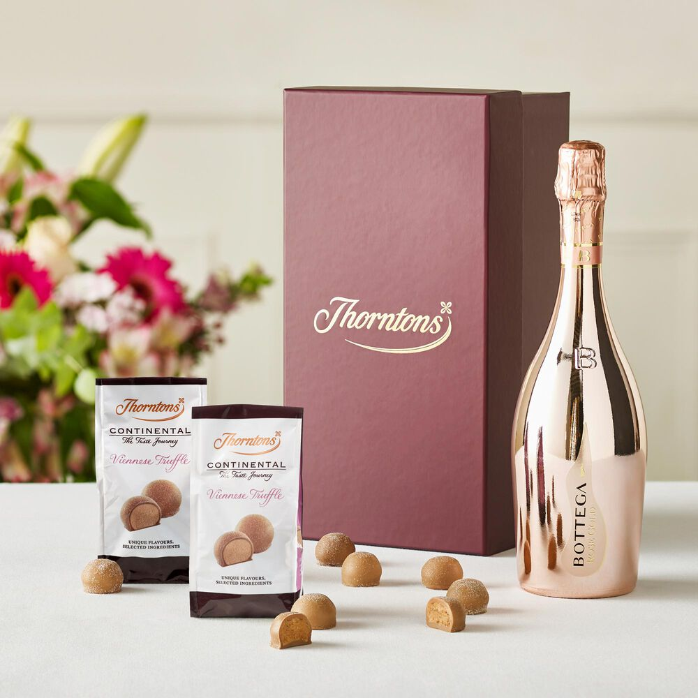 Thorntons Pink Prosecco Hamper