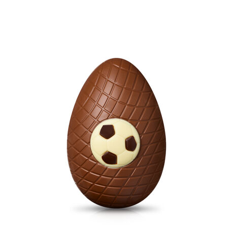 Milk Chocolate Football Easter Egg