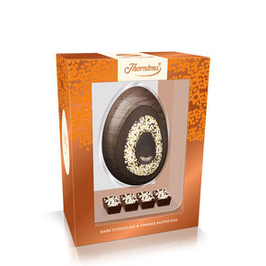 Dark Chocolate and Orange Premium Egg tablet