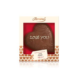 Milk Chocolate Lace Heart Model tablet