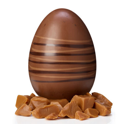 Milk Chocolate and Toffee Easter Egg desktop