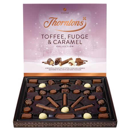 Toffee, Fudge and Caramel Christmas Collection