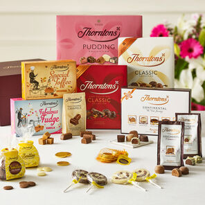 Family Sharing Chocolate Hamper tablet