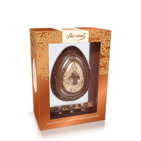 Milk Chocolate, Almond and Hazelnut Premium Easter Egg